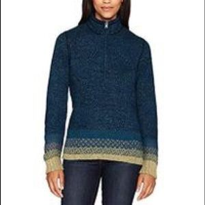 NWOT Woolrich Tanglewood 1/2 Zip Sweater, Size Lg